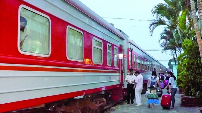 FPT sẽ số hóa toàn bộ công tác quản lý vận tải hàng hoá cho Tổng Công ty Đường sắt Việt Nam. Ảnh: Đường sắt Việt Nam.