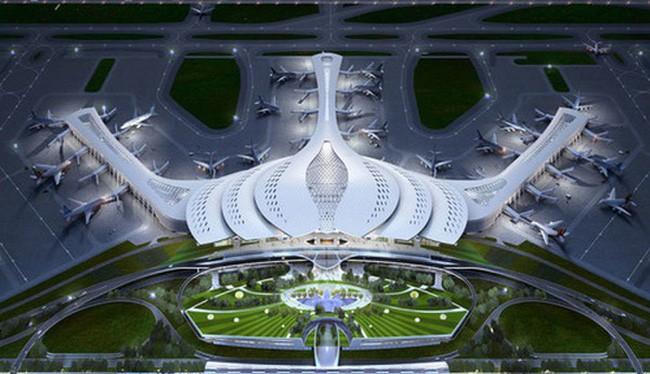 Thiết kế sân bay Long Thành.