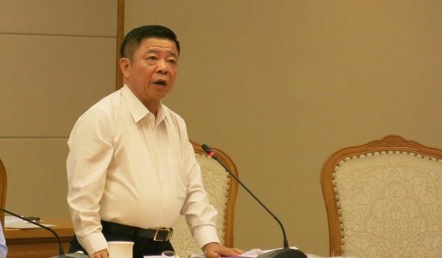 Ông Võ Kim Cự phát biểu tại tại hội nghị.
