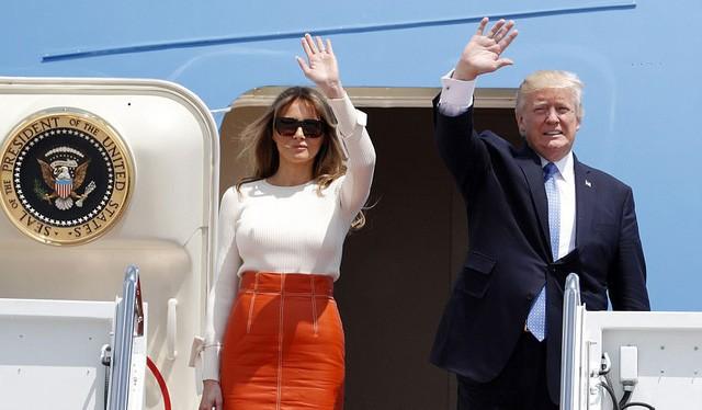 Ông Donald Trump và phu nhân. Nguồn: Dân trí