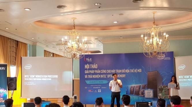 Đại diện Intel chia sẻ về các công nghệ, giải pháp dành cho máy trạm của Intel