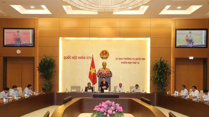 Phiên họp thứ 12 của Quốc hội khóa XIV. Nguồn: Cổng TTĐT Quốc hội