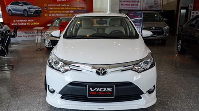 Một mẫu xe Toyota Vios. Nguồn: Thanh niên
