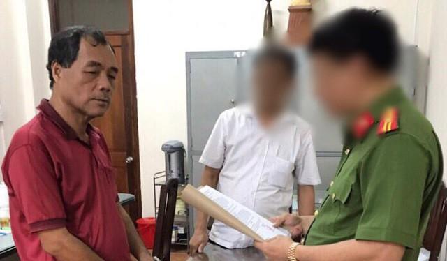 Ngày 1-8 Cục Cảnh sát điều tra tội phạm về kinh tế và tham nhũng (C46) Bộ Công an đã ra quyết định khởi tố bị can, bắt tạm giam 4 tháng đối với Trầm Bê - Ảnh: C.A