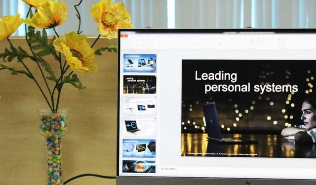 Cận cảnh màn hình HP EliteDisplay E273q 27 inch QHD vừa về Việt Nam