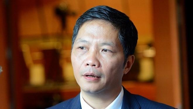 Bộ trưởng Bộ Công thương Trần Tuấn Anh. Nguồn Zing.