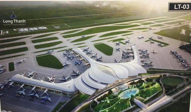 Phương án thiết kế sân bay Long Thành hình cánh sen LT - 03