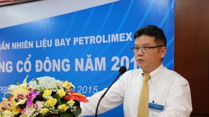 Tân Tổng Giám đốc Petrolimex Phạm Đức Thắng. Nguồn PLX