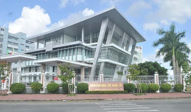 Trụ sở Ban Chỉ đạo Tây Nam Bộ. Nguồn: Báo giao thông
