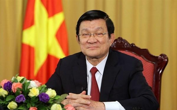 Ông Trương Tấn Sang - Nguyên Ủy viên Bộ Chính trị, nguyên Chủ tịch nước Cộng hòa Xã hội chủ nghĩa Việt Nam. Ảnh: TTXVN