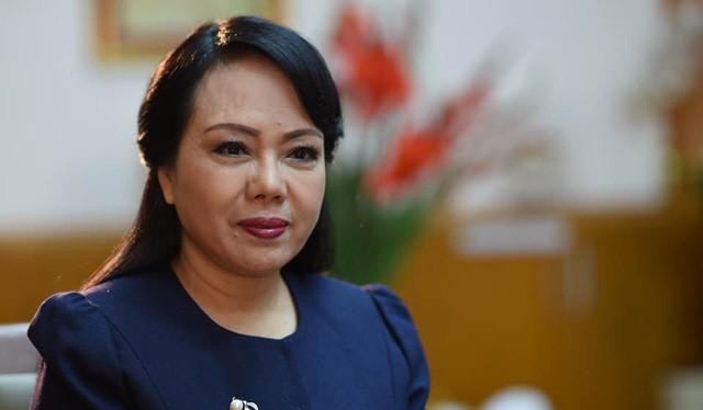 Bộ trưởng Nguyễn Thị Kim Tiến bị loại khỏi danh sách đạt chuẩn giáo sư năm 2017. Ảnh: Bộ Y tế.