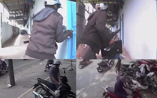 Video cảnh báo: Trộm ngang nhiên vào khu trọ trộm đồ