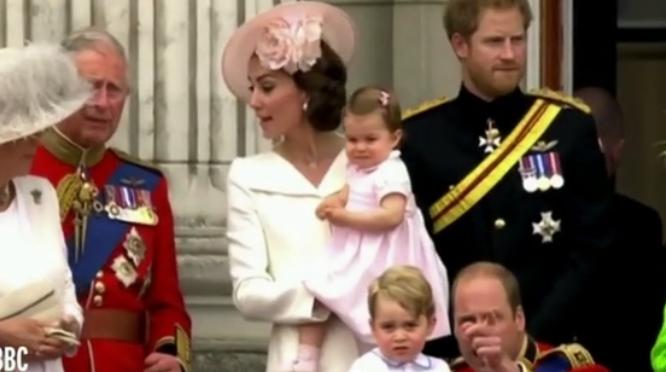 Video về công chúa nhỏ nước Anh gây sốt cộng đồng mạng