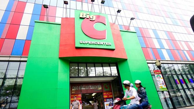 Siêu thị Big C trên đường Trường Chinh, Q.Tân Phú, TP.HCM