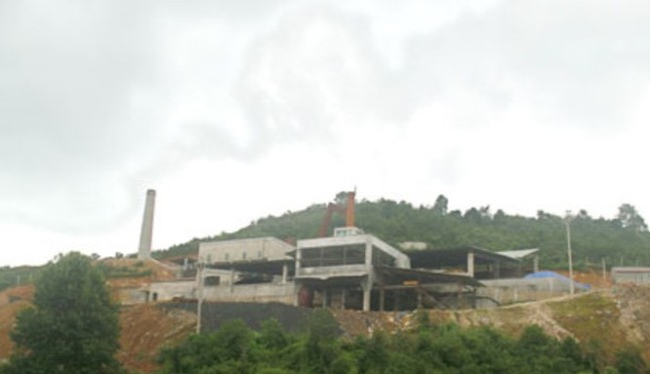 Cổ phiếu của Khoáng sản Na Rì - Haminco có nguyên cơ bị hủy niêm yết
