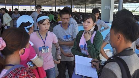 Lần thứ 2 công nhân nhà máy dệt may Panko Tam Thăng nghỉ việc phản đối chủ doanh nghiệp