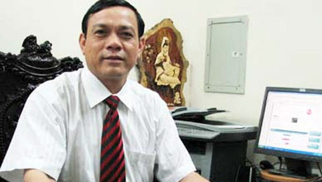 Ông Nguyễn Thanh Trúc - Phó Chủ tịch Hiệp hội Kinh doanh vàng Việt Nam.