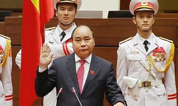Thủ tướng Chính phủ Nguyễn Xuân Phúc tuyên thệ nhậm chức