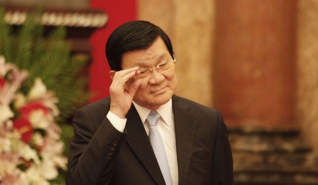Nguyên Ủy viên Bộ Chính trị, nguyên Chủ tịch nước Trương Tấn Sang