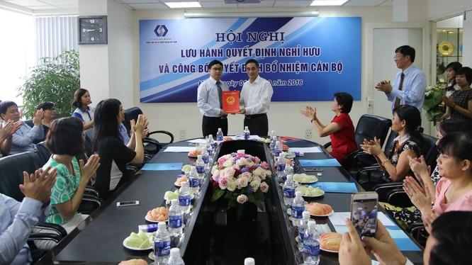 Ông Nguyễn Sơn nhận quyết định bổ nhiệm chức vụ Chủ tịch HĐQT VSD