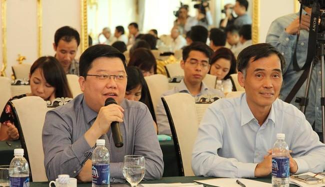 Ông Nguyễn Hưng - Tổng Giám đốc TPBank chia sẻ tại Tọa đàm An toàn thông tin và mối đe dọa tới nền kinh tế do CLB Nhà báo CNTT tổ chức