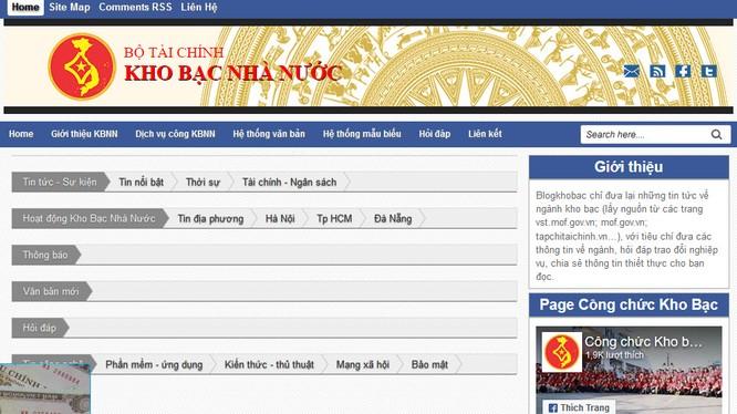 Hiện trang blogkhobac.tk đã dừng hoạt động (ảnh chụp từ bản lưu Google)