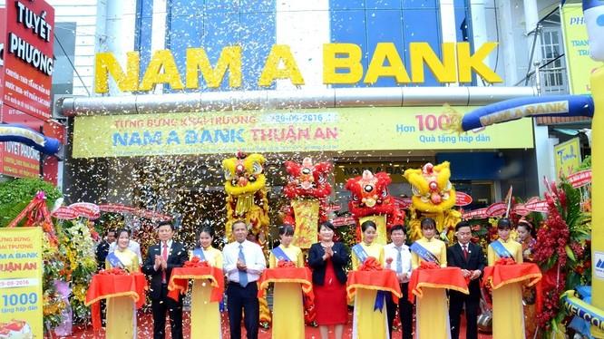 Lễ khai trương PGD Nam A Bank Thuận An