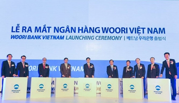 Woori Bank chính thức ra mắt ngân hàng tại Việt Nam