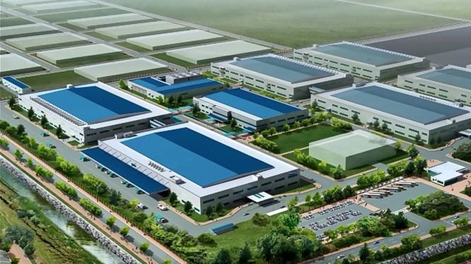 Phối cảnh dự án Samsung Bắc Ninh