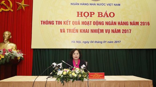 Bà Nguyễn Thị Hồng, Phó Thống đốc Ngân hàng Nhà nước Việt Nam