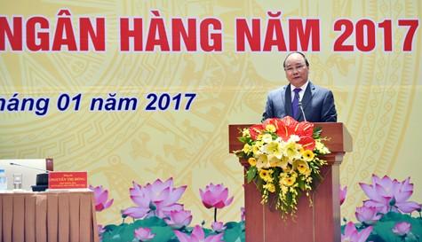 Thủ tướng thẳng thắn đề cập đến những hạn chế bất cập của ngành ngân hàng