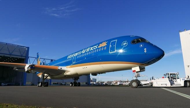 Năm 2016, Vietnam Airlines cũng từng đề xuất phương án bán và thuê lại 3 máy bay Airbus 350 và được ĐHCĐ thông qua. (Ảnh minh họa)