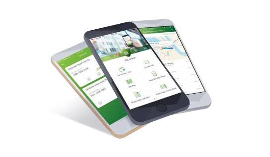 Mobile B@aking 3.0 với tính năng xác nhận bảo mật bằng vân tay