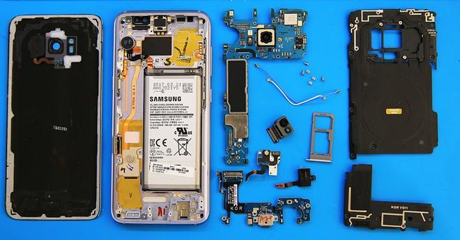 Chi tiết linh kiện của Galaxy S8