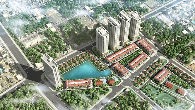 Phối cảnh dự án FLC Garden City - Ảnh: FLC