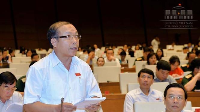 Đại biểu Đinh Duy Vượt, đoàn đại biểu Gia Lai - Ảnh: Cổng TTĐT Quốc hội