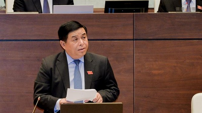 Bộ trưởng Bộ KH&ĐT Nguyễn Chí Dũng - Ảnh: VGP