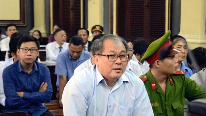 Phạm Công Danh bị xét xử tại phiên tòa tháng 1.2017