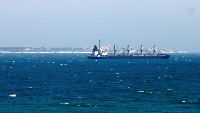 Vùng biển Bình Thuận, nơi Công ty TNHH nhiệt điện Vĩnh Tân 1 dự kiến nhận chìm 1 triệu m3 bùn cát. Ảnh: Huỳnh Hải.