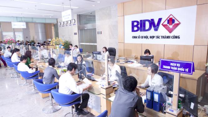 BIDV sẽ trả cổ tức năm 2016 bằng tiền mặt với tỷ lệ 7% - Ảnh: Internet