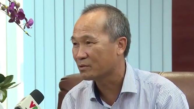 Ông Dương Công Minh - Ảnh cắt từ clip của VTV