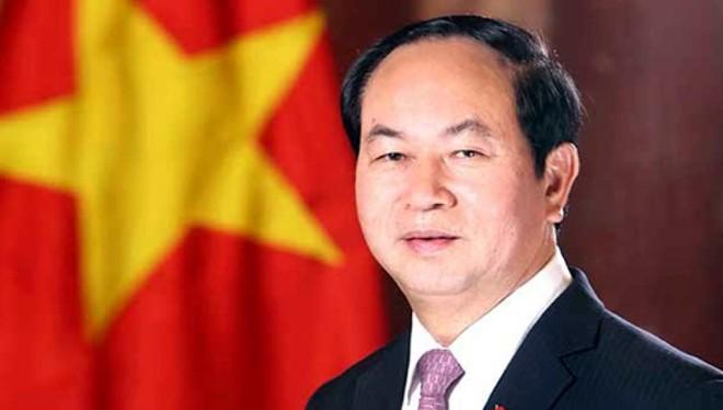 Chủ tịch nước Trần Đại Quang - Ảnh VGP