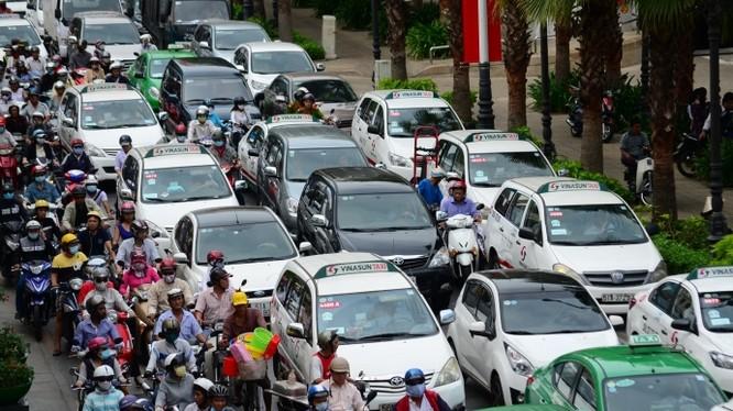 TP. HCM: Ô tô vào nội đô sẽ bị thu phí theo giờ từ năm 2020 - Ảnh: Báo Giao thông