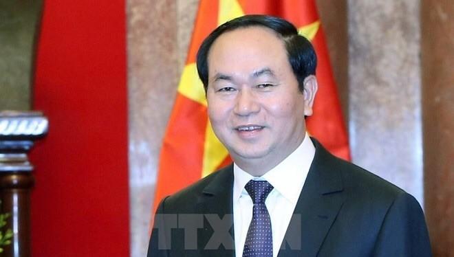 Chủ tịch nước Trần Đại Quang - Ảnh: TTXVN