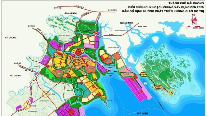 Quy hoạch đô thị Thành phố Hải Phòng tới năm 2025