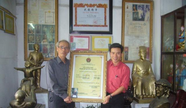 Sau 35 năm, phát minh Cờ Toán Việt Nam của ông Bẩy mới được cấp bản quyền, có người nước ngoài trả 1 triệu USD nhưng ông không bán.
