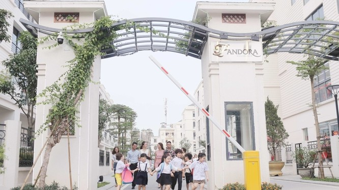 Nhiều dự án hạng sang đã và đang được triển khai ở Triều Khúc