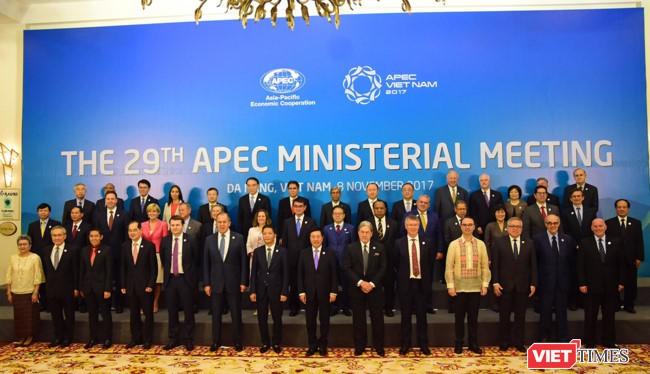 Tuần lễ cấp cao APEC 2017 tại Đà Nẵng đã bước vào ngày làm việc cuối cùng - Ảnh: Hồ Xuân Mai
