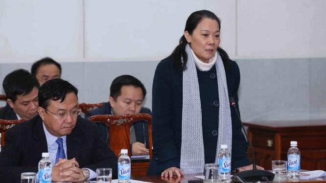Bà Nguyễn Thị Bích Ngà, ủy viên Ủy ban Kiểm tra TƯ