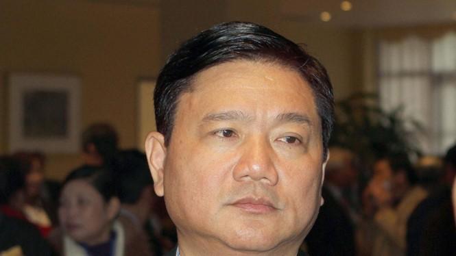 Ông Đinh La Thăng khi còn là Bộ trưởng Bộ GTVT